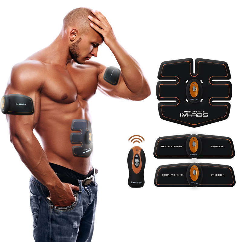 Wireless Smart EMS Abdominal Training Device Hous Abdominal Muscles Intensive Body Sculpting Shaper Loss Slimming Massager