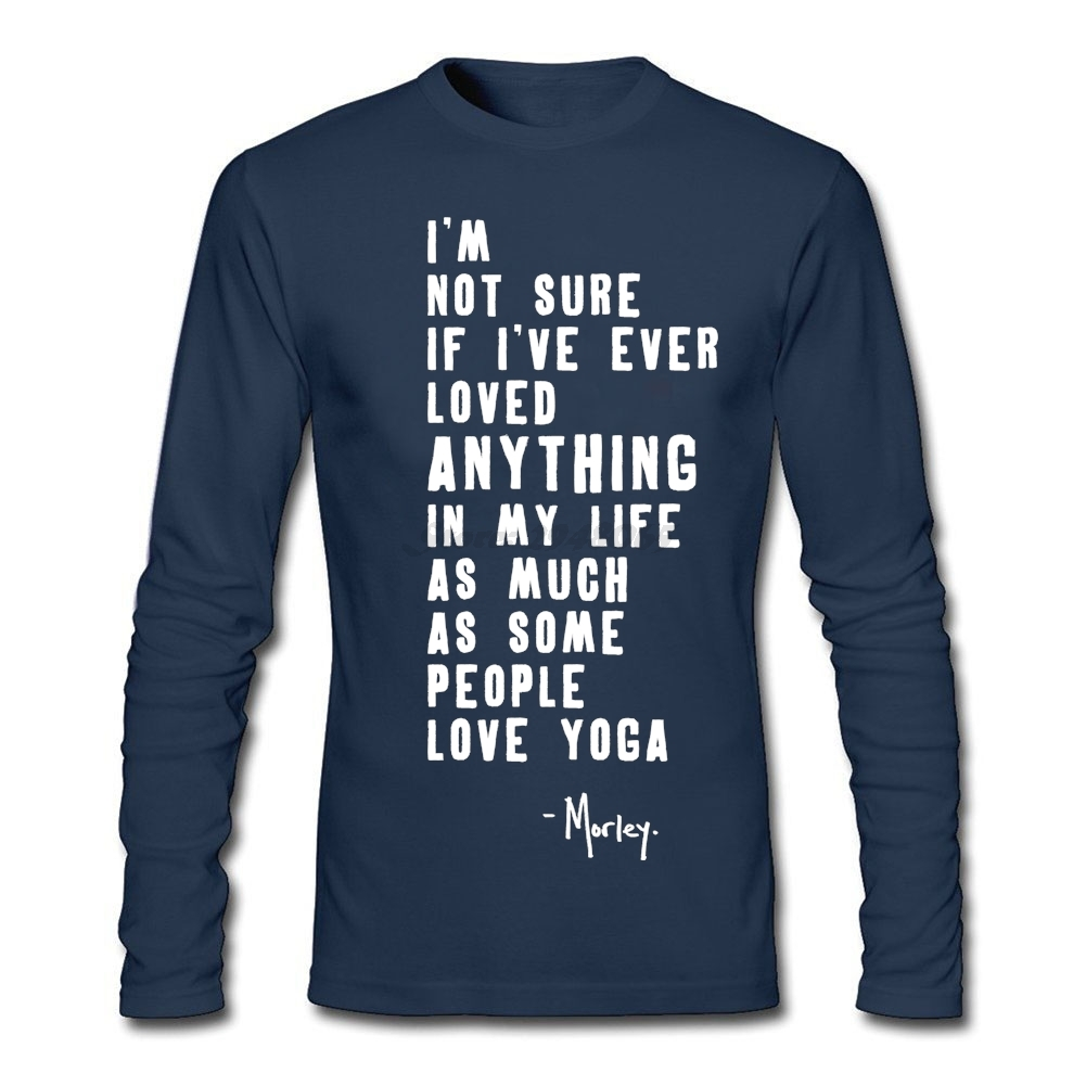 Design t shirt company - Full Sleeve Fitted Business Tshirt Company Man Yogaa Sayings Shirt I Love Yogaa Designs Men T
