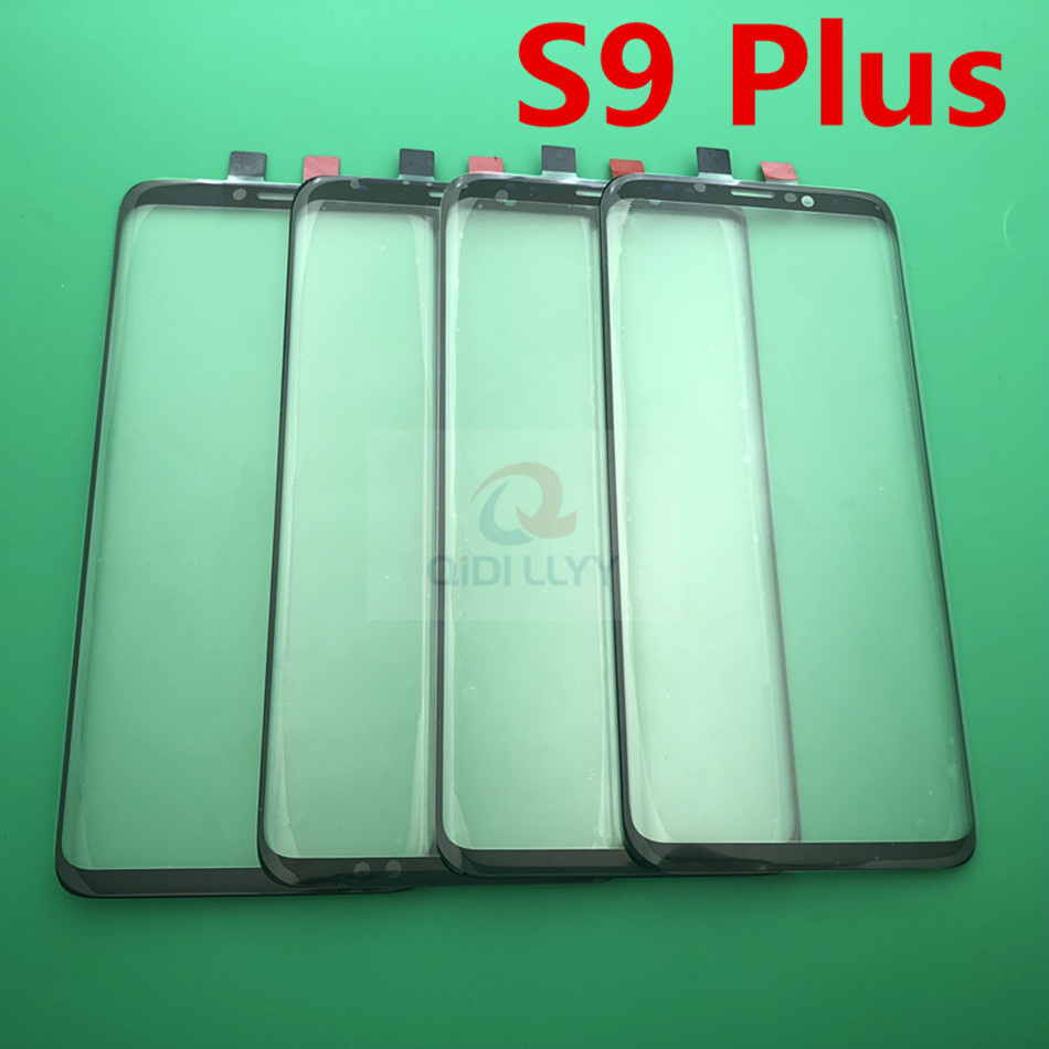 10pcs lot Replacement External Glass for Samsung Galaxy S9 Plus G965 6 2 LCD Display Touch