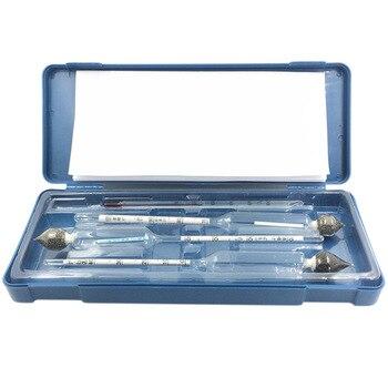 (0-40/40-70/70-100) alcoholímetro profesional para Vodka/Whisky alcoholímetro vino instrumento de medición con regalo