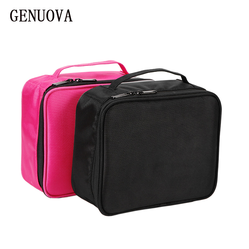 Travel Fashion Waterproof Cosmetic Case Large Capacity Portable Ladies Professional Makeup Bag Organizer Storage Bag Suitcases luxcel travel accessory fashion cosmetic case bag large capacity portable women makeup necessaire storage