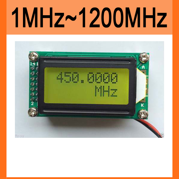 High Accuracy RF 1 MHz ~ 1 1 GHz Frequency Counter Tester