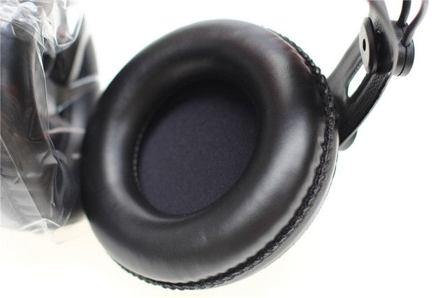 Original Samson SR850 monitoring HIFI headset Semi-Open-Back Headphones for Studio, with leather earcup,without retail box