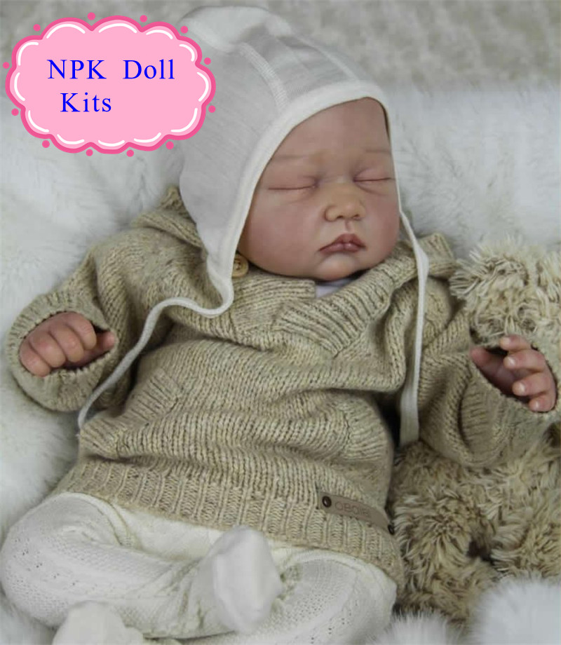 Adora 22inch Reborn Baby Doll Kits With EU Standards Quality Lifelike Reborn Baby Doll Kits For Kids As Christams Gift DIY Toys