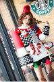 Мелинда Стиль 2016 новая мода женщин свитер вязаный пуловер топ бесплатная доставка