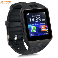 PLYSIN DZ09 Bluetooth Smart Watch Unlocked Smartwatch GSM SIM Card With Camera Support Android IOS iPhone for Men Women
