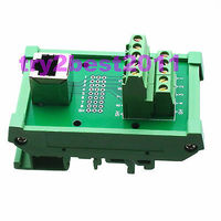 Terminale Ethernet RJ45 jack pin 9 Pin Breakout Montaggio Su Guida DIN Carrier