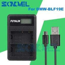DMW-BLF19 USB ЖК-дисплей двойной Батарея Зарядное устройство DMW-BLF19E для Panasonic Lumix DC-GH5 DMC-GH3 DMC-GH3K DMC-GH4 DMC-GH4K DMW-BLF19PP