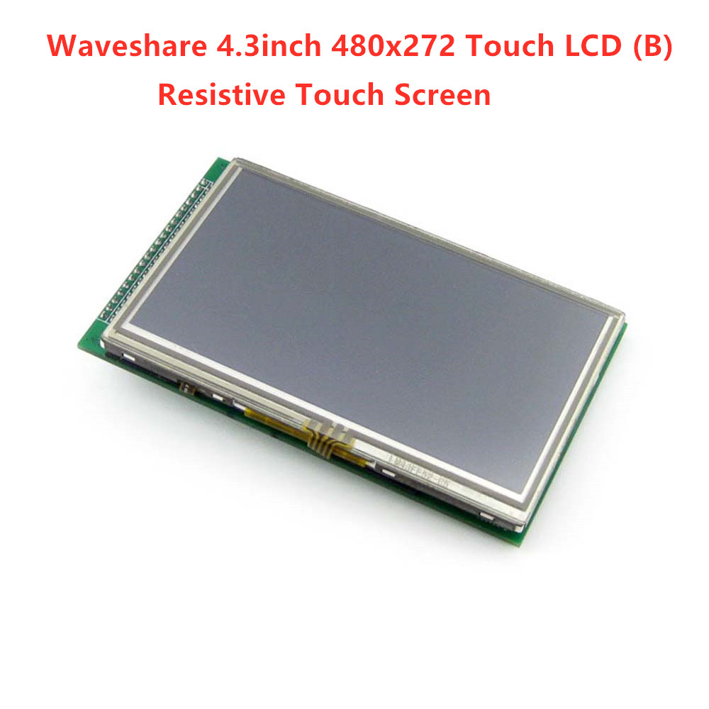 Waveshare 4.3inch 480x272 Touch LCD (B)  LCD TFT  Multicolor Graphic LCD, With Touch Screen And Stand-alone Touch Controller