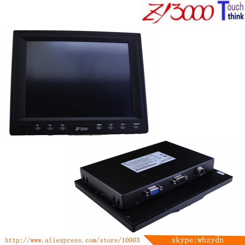 OEM ODM 8 inch smart house resistive touch screen monitor Home Security System Smart monitor image