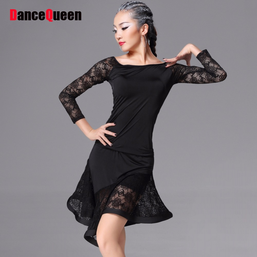 Latin Dance Kleid Frauen Beyonce Kostüm 2 Stücke (Top + Rock ...