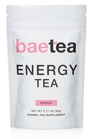 Baetea Energy Tea Naturally Boost Your Energy 25 Servings With Guarana Potent Traditional Organic Herbs Ultimate