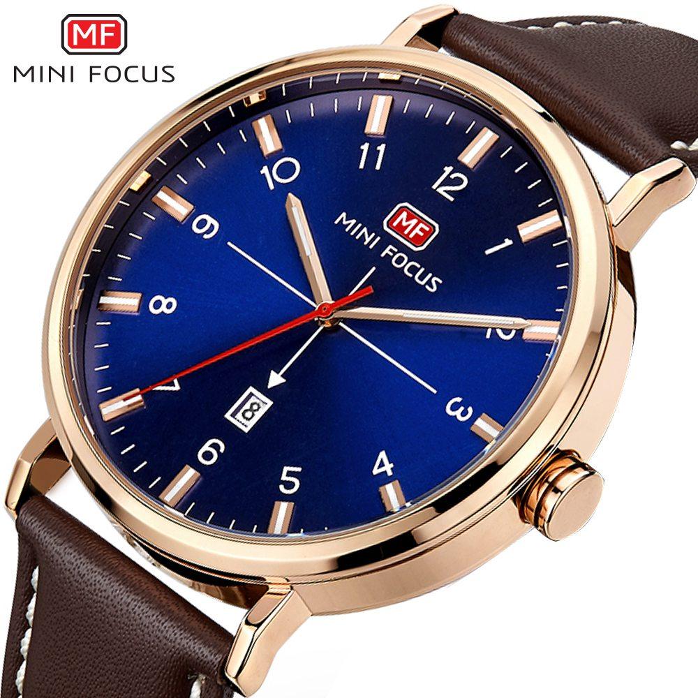 MINI FOCO 2019 Novo Relógio de Quartzo Top Marca de Moda Homens Relógios de Pulso Famoso Relógio Masculino Hodinky Montre Homme Relogio masculino
