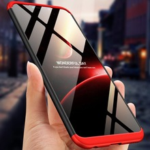 цена 360 Degree Full Protection Hard Case For Huawei Honor Play Back Cover shockproof case For Huawei Honor Play case + glass