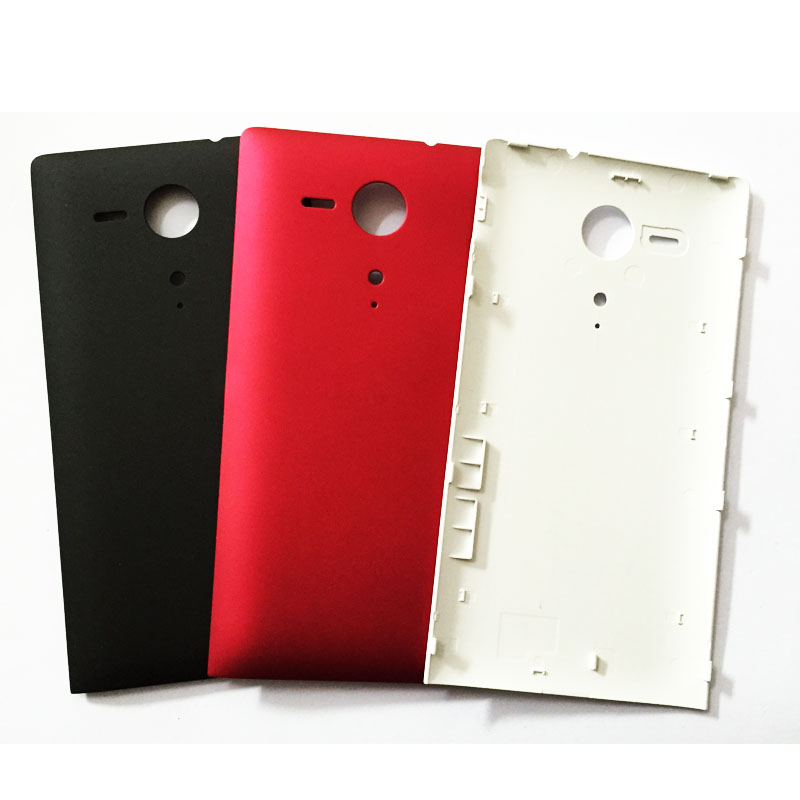 New Rear Case Back Battery Cover Door For Sony Xperia SP M35 M35h C5302 C5303 C5306 Housing Replacement Parts