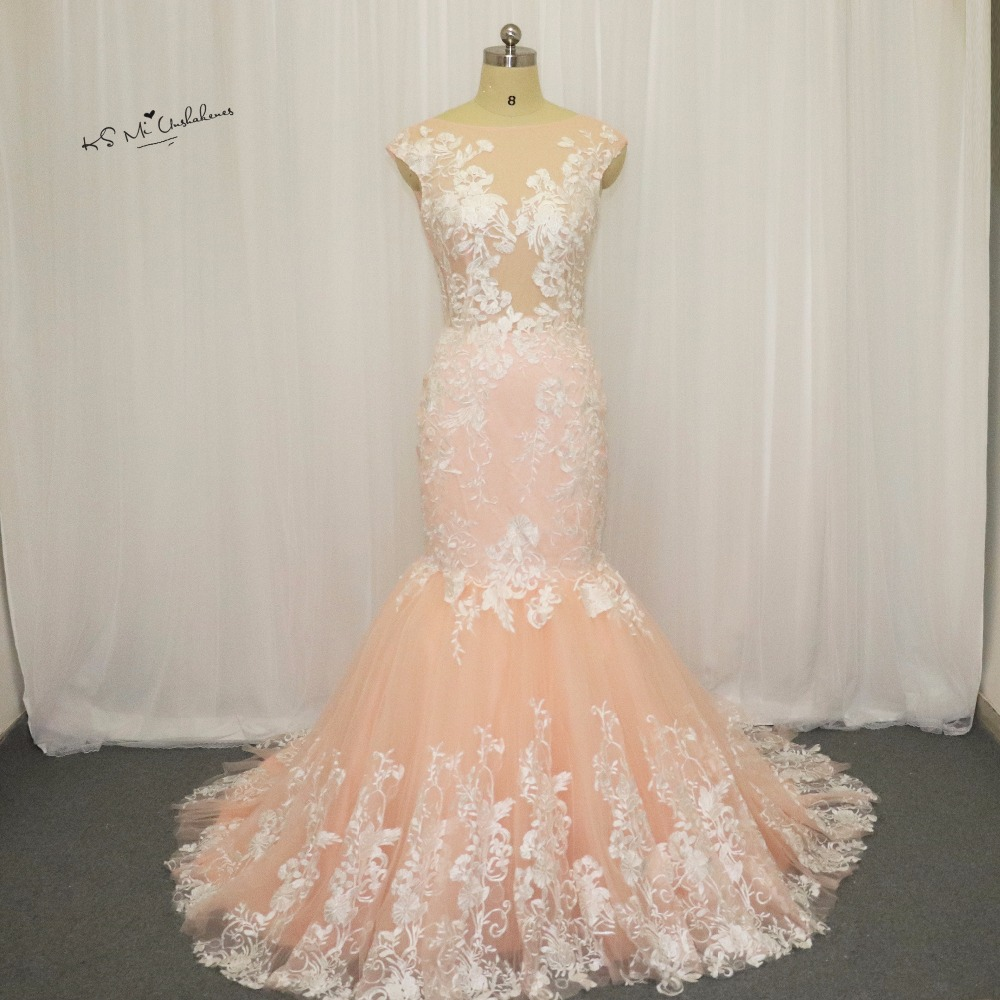 Buy champagne vintage mermaid wedding for African lace wedding dress