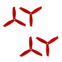 цены на 2 Pair Gemfan Hulkie 5055S 3 Paddle CW CCW Propeller Prop for 2206-2300KV Motor RC Model Multicopter Blue Yellow Red Black White  в интернет-магазинах