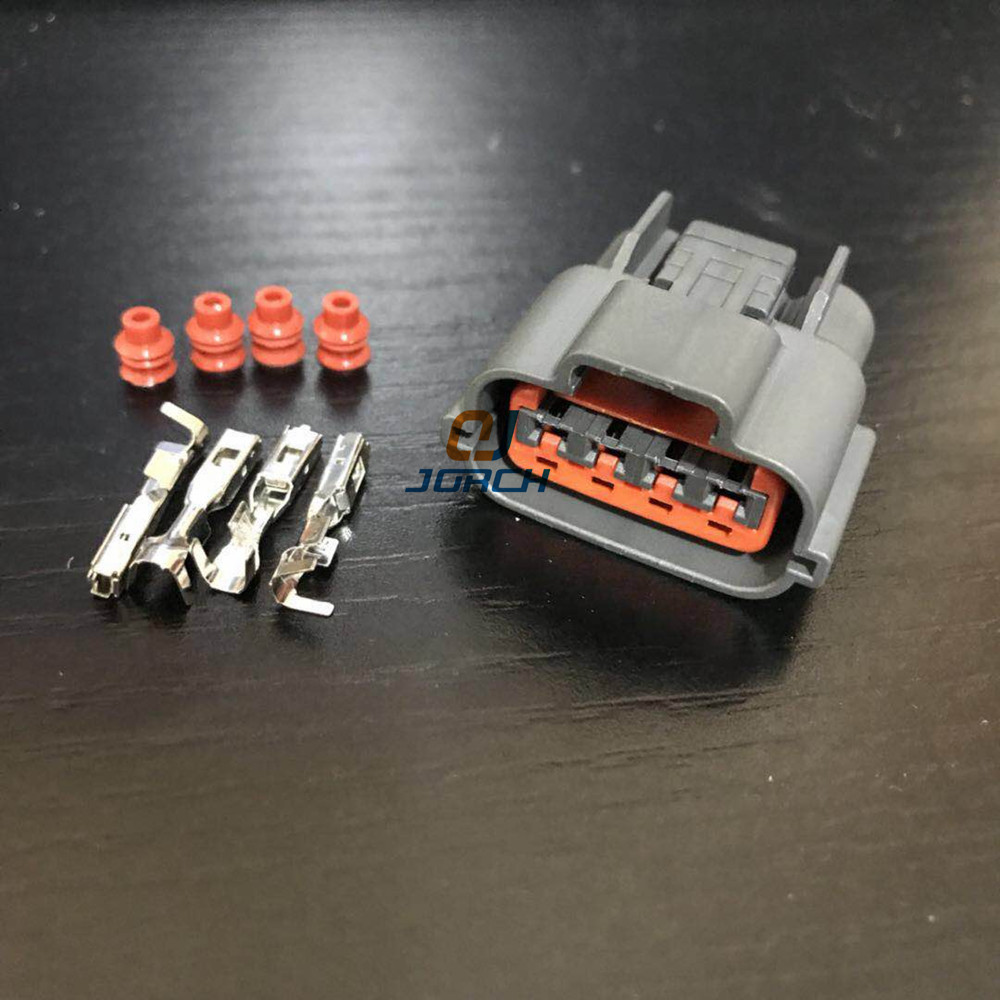 Amp Tyco 4 Pin Throttle Sensor Plug 1jz Gte 2jz 1uz 3sge Tps Wiring Harness And Ecu 10 Sets Automotive Wire Connector Waterproof Oxygen Socket For Nissan Sr20det