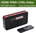 Original ezcap hd placa de captura de jogo de vídeo 1080 p hdmi ypbpr cvbs recorde caixa para o Disco de U SD para PS4 PS3 XBOX TV STB Médica cuidados