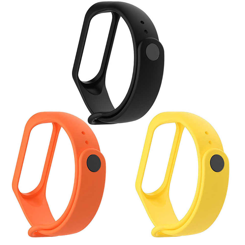 Mi band 3 4 correa de muñeca para Xiaomi mi Band 3 4 silicona reloj inteligente pulsera Correa reemplazo mi band4 band3 mi band3 Accesorios