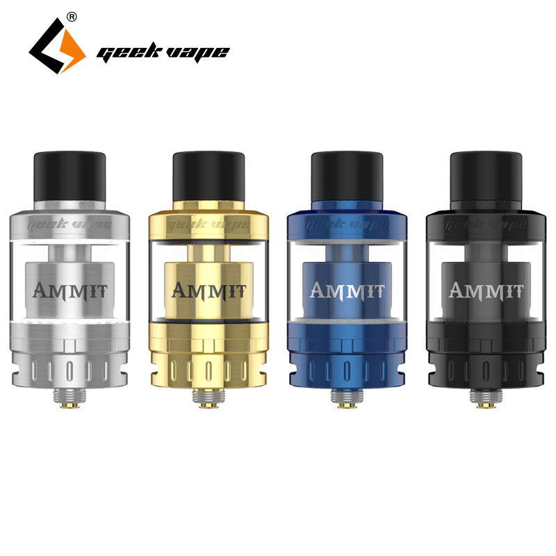 Original GeekVape Ammit 25 RTA Atomizer 2ml/5ml Enhanced 3D Airflow System Upgrade Ammit RTA Huge Vape for Electronic Cigarette