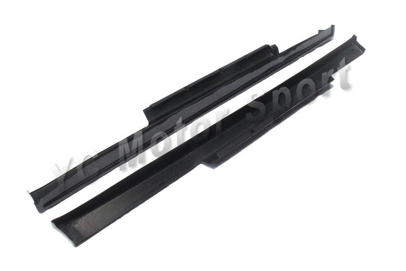 Car Accessories Carbon Fiber Zele- P Style Side Skirt Fit For - Auto Replacement Parts - Photo 5