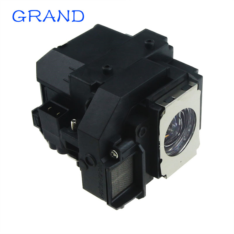 Compatible projector lamp bulb ELPLP58 for Epson EB-S9 EB-S92 EB-W10 EB-W9 EB-X10 EB-X9 EB-X92 with housing GRAND