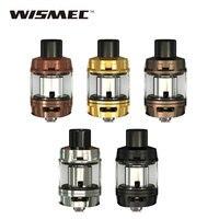 Originale WISMEC Elabo SW Atomizzatore 2 ml/4 ml Capacità Serbatoio con 4 ml Supplementare Tubo di vetro & 0.2ohm WS Tripla Testa Bobina Top Riempimento Serbatoio