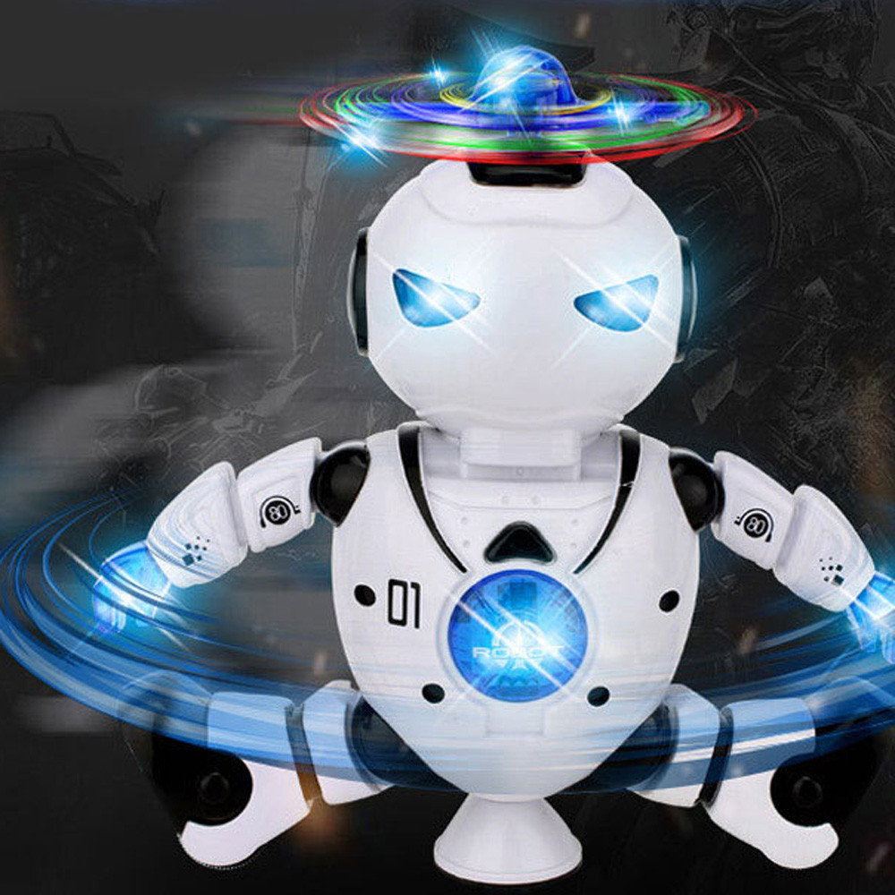 HIINST Electronic Walking Dancing Smart Space Robot Astronaut Kids Music Light Toys Dropship Y791