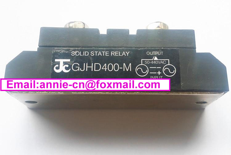 ФОТО New and original GJHD400-M  JICHENG Single phase SOLID STATE RELAY   400A 50-440V