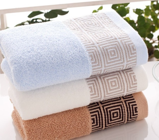 Us 1 07 29 Off Soft Cheap Face Towel Small Hand Towels Kitchen Towel Hotel Restaurant Kindergarten Cotton Towel 35 35cm In Hand Towels From Home