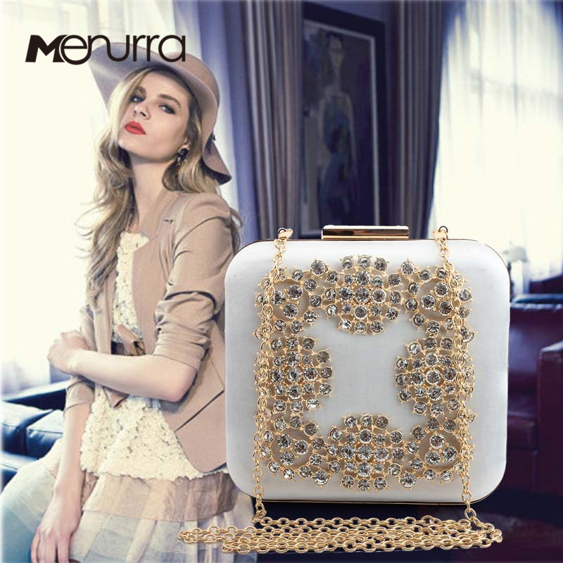 Ambitious Women Pvc Fabric Flower Clutches Crossbody Floral Purse With Gold Chain Pearls Beaded Evening Bags For Wedding Prom Banquet I Luggage & Bags