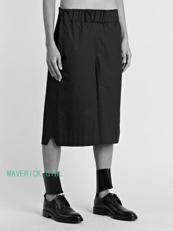 Mode 44 Nouveau Styliste Vêtements 27 Large Jupe Plus Cheveux Droite De Taille La Casual Noir Jambe 2018 Hommes Pantalon Chanteur Costumes ChdotsQrxB