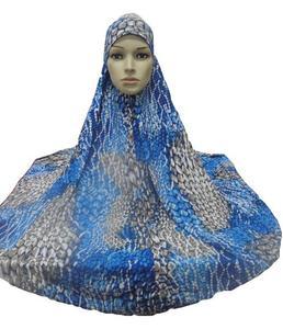 Image 1 - ผู้หญิงมุสลิมสวดมนต์ขนาดใหญ่ Hijab Amira Khimar Headwear อาหรับ Overhead เสื้อผ้าสวดมนต์การ์เม้นท์หมวก Hijabs นินจาอิสลามใหม่