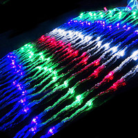 2Mx2M AC110 220V LED Waterfall String Light Cristmas Christmas Lights Decoration Holiday Outdoor Free Shipping