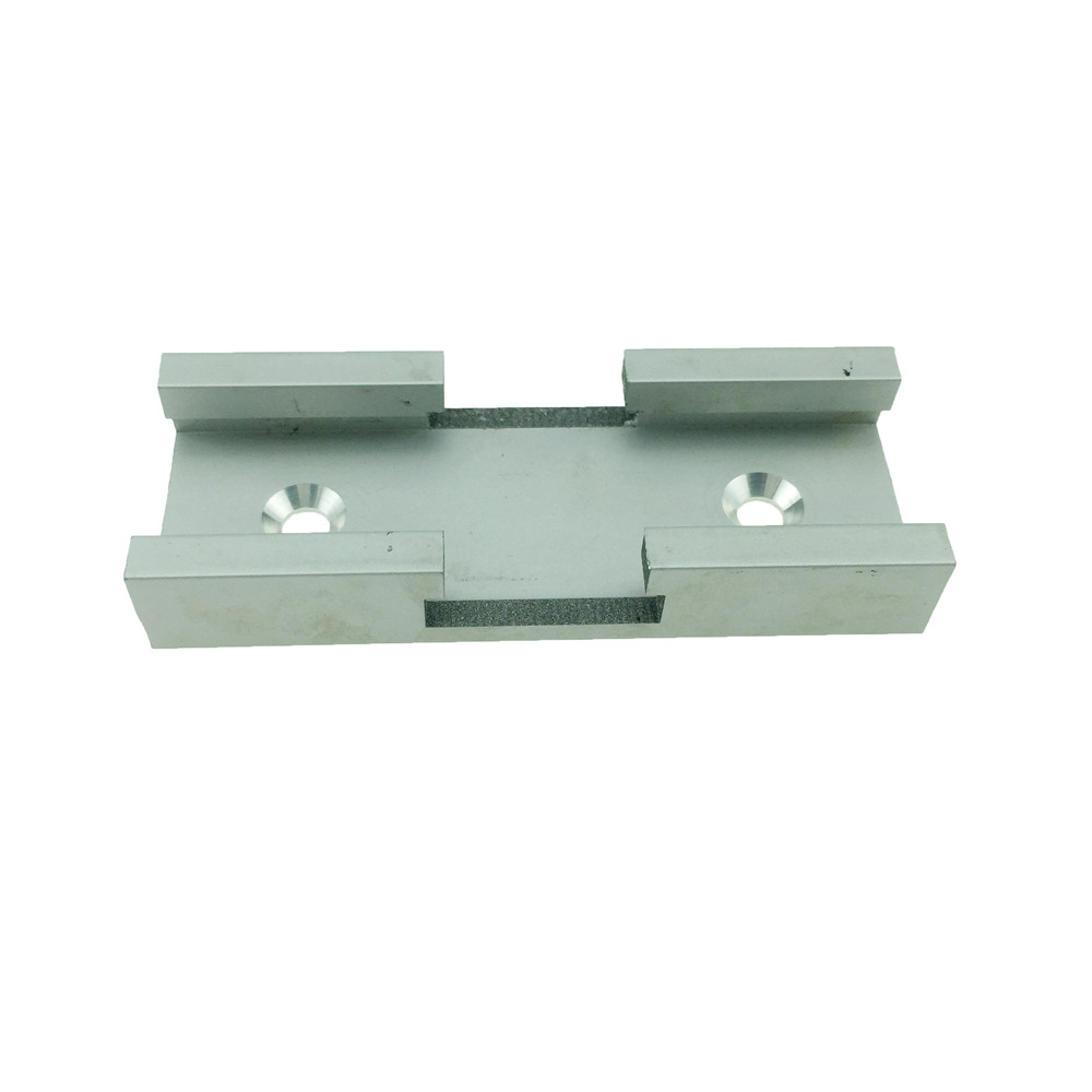 YOFE 2PC T-track Intersection Kit Aluminum T-slot Connecting Parts Woodworking Tools HT1152
