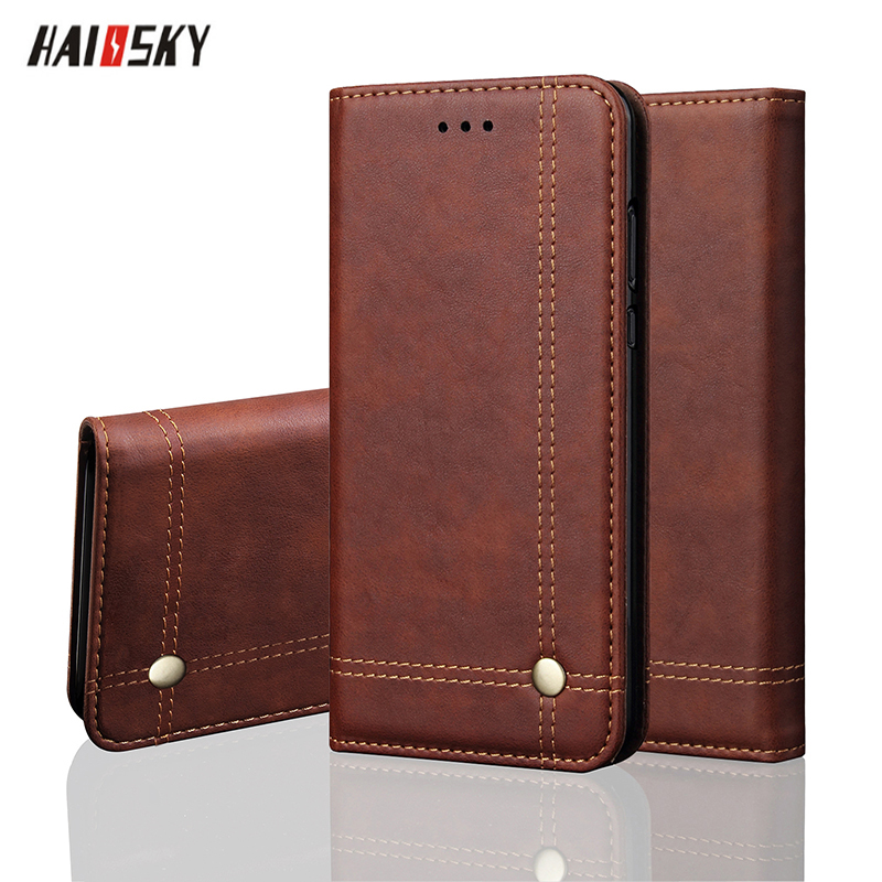 Xiao mi Pocophone F1 Flip Étui En Cuir Pour mi 8 SE 5X Vintage Wallet Stand Téléphone Couverture Pour Rouge mi 4X5 Plus Note 5 Pro Note 3 Cas