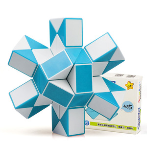 Image 1 - QIYI 48 Segments Magic Rule Snake Cube Elasticity Elastic changed Popular Twist Transformable Kid Puzzle Toy for Children