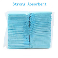 2017 New Super Absorbent Pet Diaper Dog Cat Indoor Training Urine Pad Soft Thick Size S