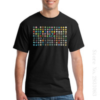 Customized Summer Style Cool Shirts Top 80 S Rave Music T Shirt Ecstasy Pills XTC Cocaines