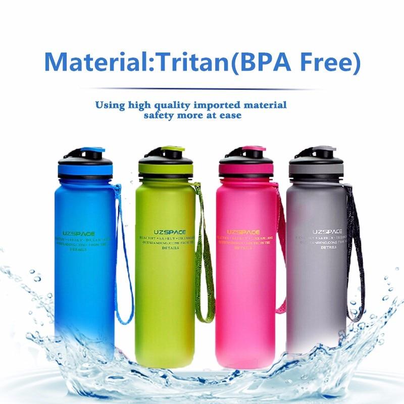 1000ML Eco Friendly Tritan BPA Free sports Water font b Bottles b font Scrub coffee tea