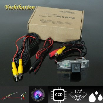 Yeshibation HD CCD night vision For Audi A4 / A4L / S4 / RS4 2013~2015 Dynamic Track HD Reversing Camera