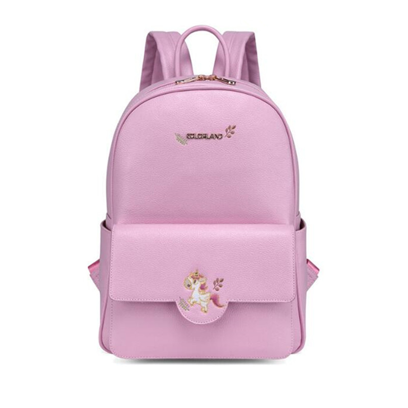 COLORLAND Diaper Bag Backpack PU Leather Baby Bag Organizer large Nappy Bags Mother Maternity Bags Mom Backpack Baby Backpack цена и фото