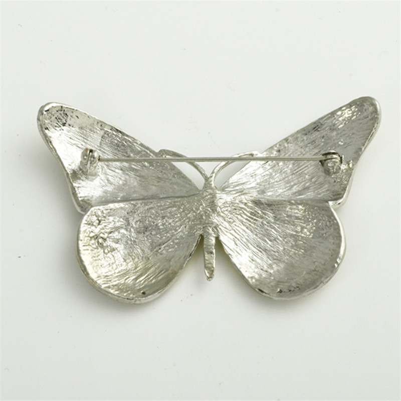 Nye høj kvalitet sommerfugl broche pin Crystal Rhinestone smukke - Mode smykker - Foto 5