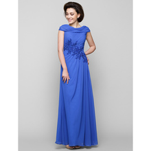 fb27fb394f7 LAN TING BRIDE A-Line Cowl Neck Ankle Length Chiffon Mother of the Bride  Dress