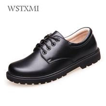 Boys School Leather Shoes for Kids Genuine Leather