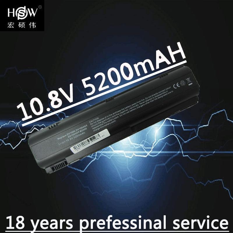 HSW laptop battery for HP B3300 M2000 M2000Z M2100 M2200 M2300 M2400 M2500 L2000 L2100 V2000 V2100 V2200 V2300 V2400 batteria in Laptop Batteries from Computer Office