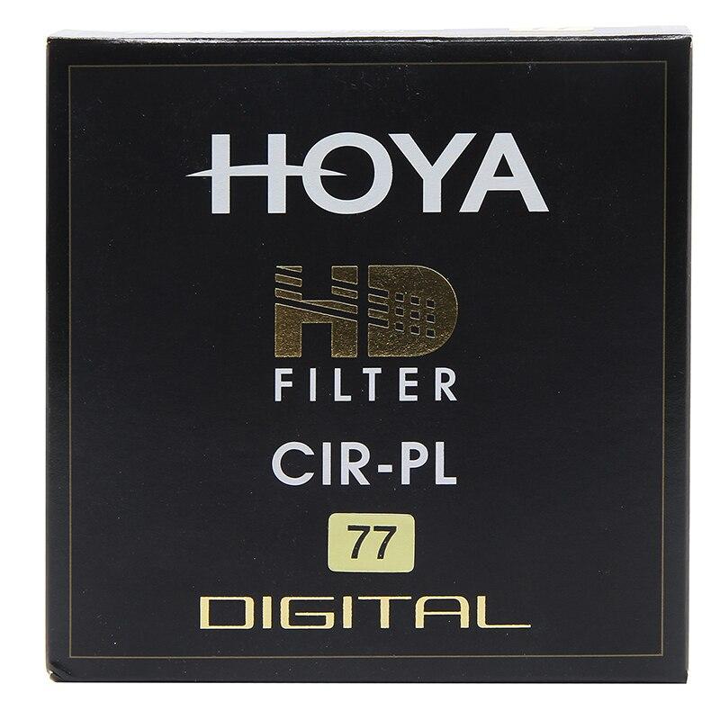 Hoya HD CPL filtro 58mm 67mm 72mm 77mm 82mm polarizante circular HD PL delgado polarizador para Objetivos para cámaras hecho en Japón