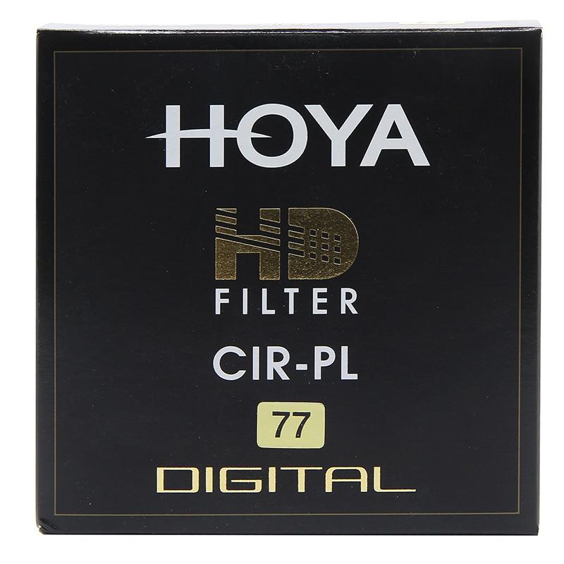 Filtro Hoya HD CPL 58mm 67mm 72mm 77mm 82mm Polarizador Circular HD CIR-PL Delgado polarizador para lentes de cámara hecho en Japón