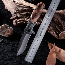 X50 D2 Steel Combat Camping Tactical Knives High Quality Outdoor Wood Handle Cold Steel Survival Hunting Knife Facas Taticas